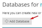 agregar_base_de_datos_en_plesk