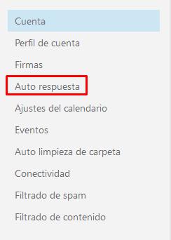 ¿Cómo crear una autorespuesta de correo electrónico eficaz? net4email configuración